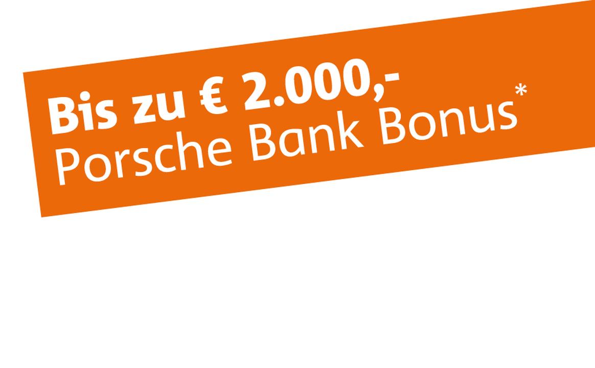 Image of Porsche Bank Bonus