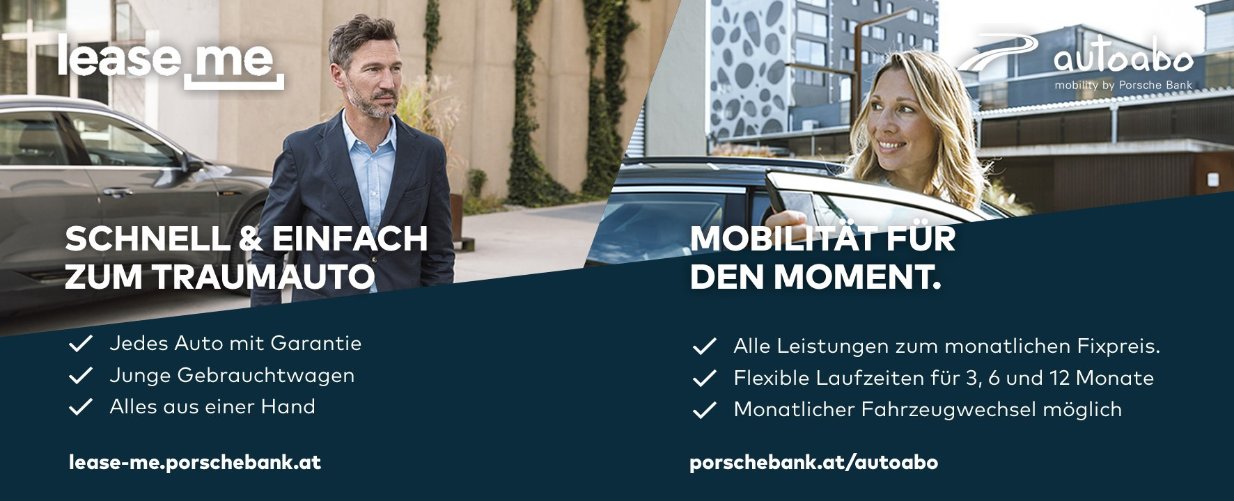 """Image of Maßgeschneiderte Finanzierungslösungen für die """"Mobilität von morgen"""" – Porsche Bank."""