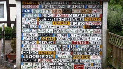 WUNSCHKENNZEICHEN FÜR IHR AUTO