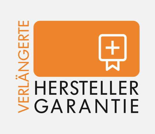 Verlängerte Herstellergarantie