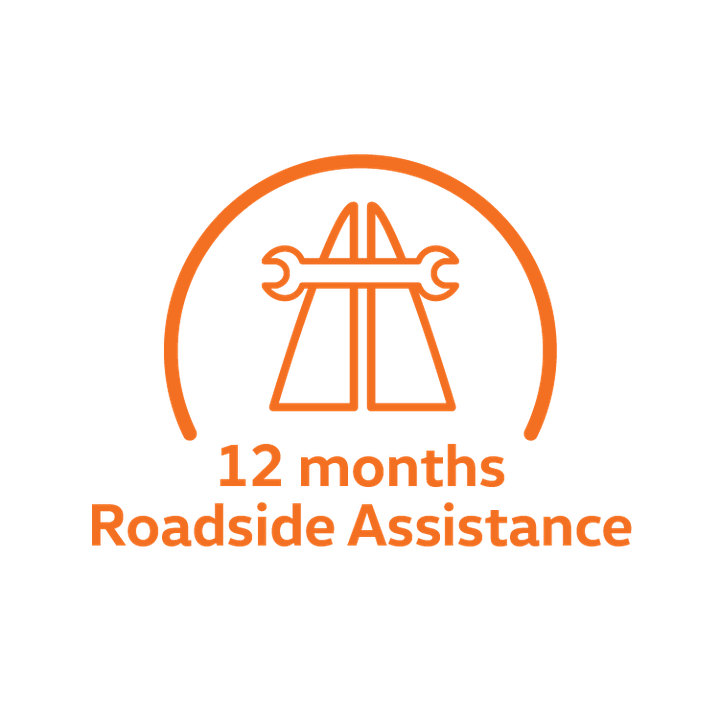 12 months Roadside Assistance
